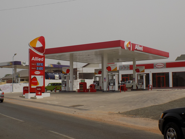 Allied Ghana commissions a new station at Westlands, Legon
