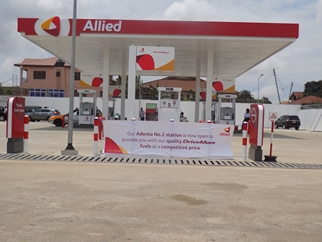 Allied Ghana commissions a new station at Adenta, Accra