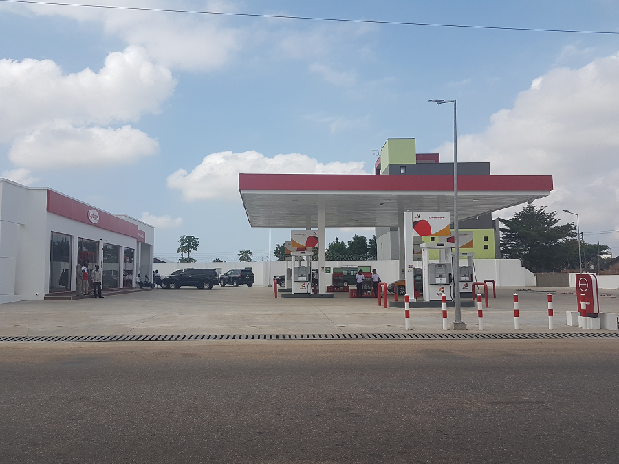 Allied Ghana commissions a new station at Shiashie, Accra