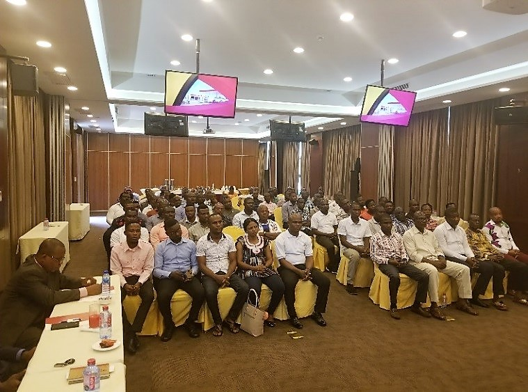 Allied Oil Organizes Fire and Safety Training For Its Managers, Supervisors and Danicom Staff at Tang Palace Hotel